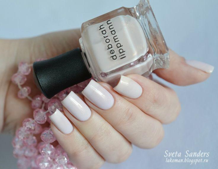 Sveta Sanders' perfect nails with Deborah Lippmann manicure