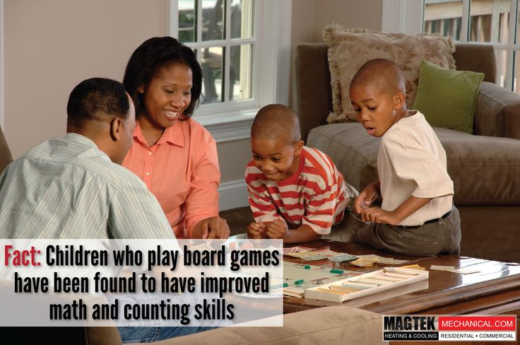 #Magtek #FACT: Children who play board games have been found to have better math and counting skills. Do you play games with your family?