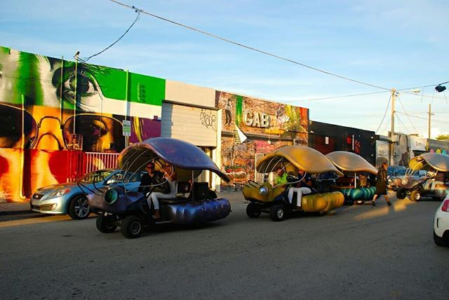 Cover more ground while exploring Wynwood's myriad murals on a graffiti buggy tour. You'll hop on the golf cart for a one-hour ride through the colorful arts district, learning about the popular street art and the artists who created it. Sat $39, . . #rocksells #rockymarianorealtor #goals #marketing #market #townhouse #condo #apartment #house #aventura #doral #miami #realty #realtorlife #rent #southflorida #coralsprings #boca #buy #rent #sell #Properties #home #townhouse #apartment…
