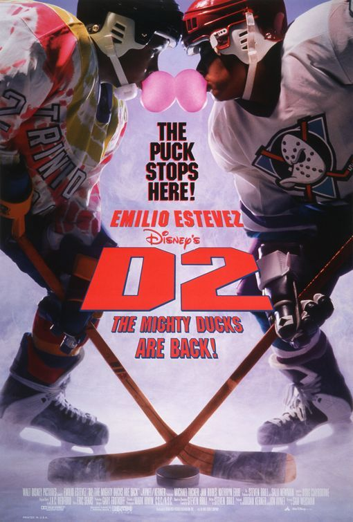 """""""D2: The Might Ducks"""" > 1994 > Directed by: Sam Weisman > Action / Comedy / Comedy Drama / Coming-of-Age / Sports Comedy"""