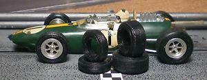 Vintage Cox slot cars   32 Urethane Slot Car Tires 2pr Fit Vintage Revell Monogram Cox K D