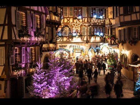 Le Marché de Noël authentique de Kaysersberg 2015 - YouTube