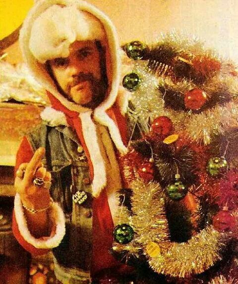 Lemmy Christmas | Metal Christmas | Pinterest