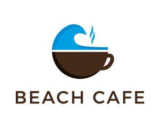 Logo Design - Beach cafe