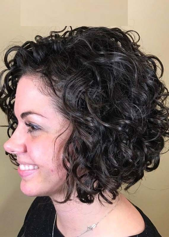 Pin On Curly Wavy Hairstyles 2020