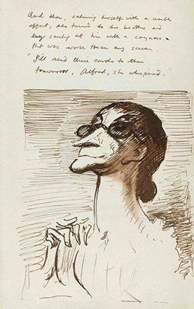 Irma Prunesquallor, Mervyn Peake