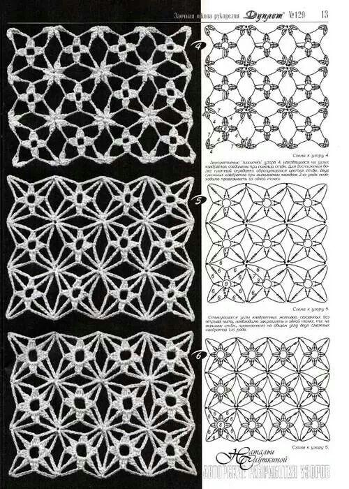 .crochet stitches