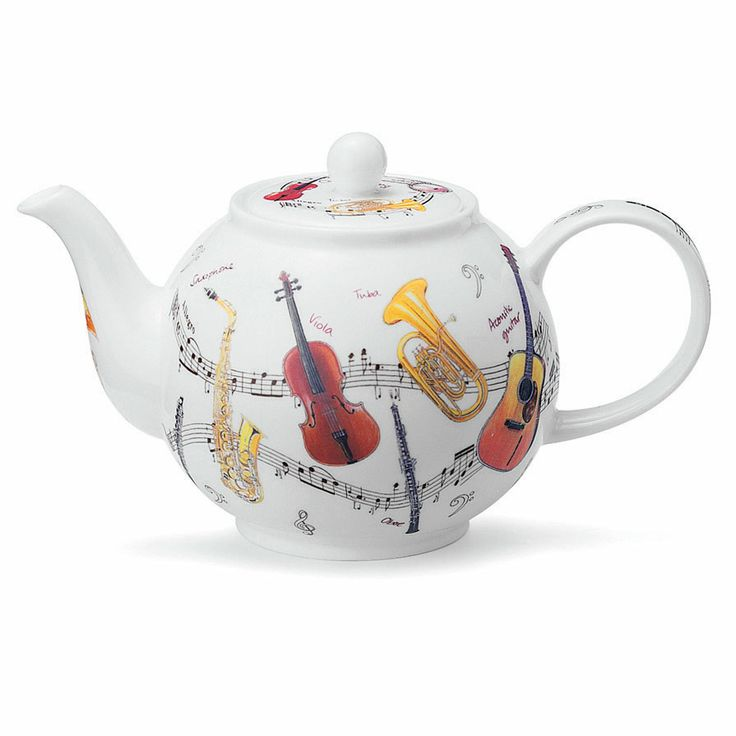 Dunoon: Large Teapot: Instruments. £71.50