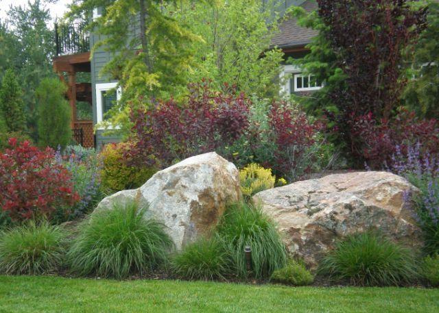 Best 25 boulder landscape ideas on pinterest large for Large landscape boulders