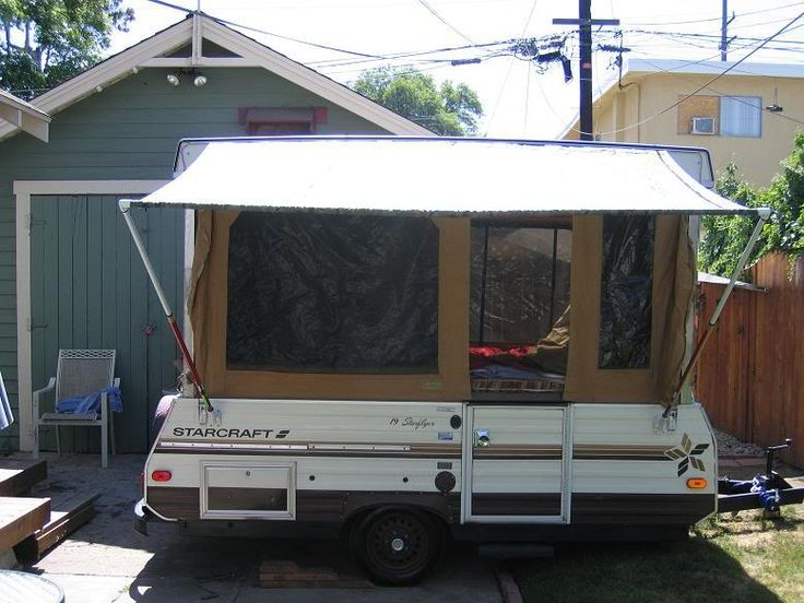 Finished My Diy Awning Pics Camping Pinterest