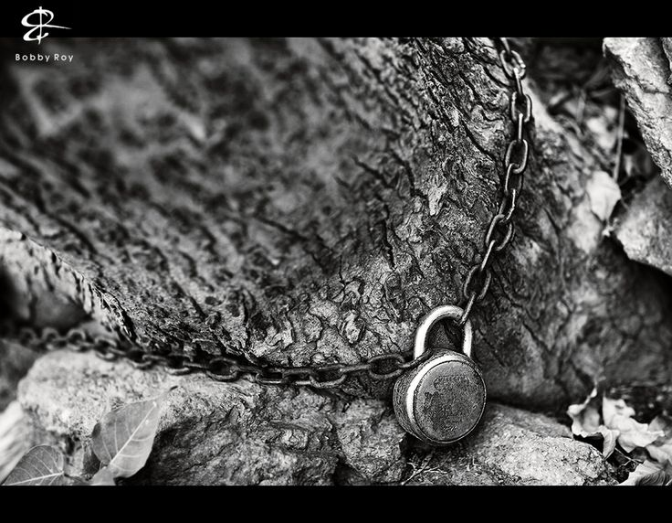 Chained for Life...    © 2013 Bobby Roy Photography.  http://www.Facebook.com/BobbyRoyPhotography