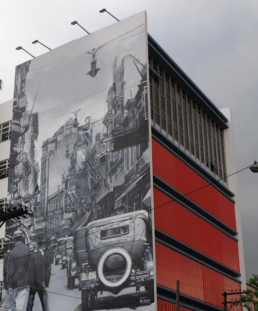 Mural artístico do Senac Tiradentes -   Arte: Eduardo Kobra