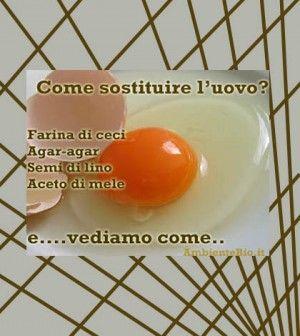 Come sostituire le uova nelle ricette | Ambiente Bio