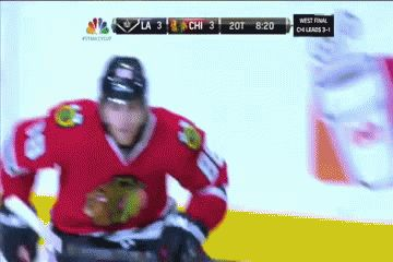 GIF: Patrick Kane completes hat trick, sends Chicago to Final - CBSSports.com