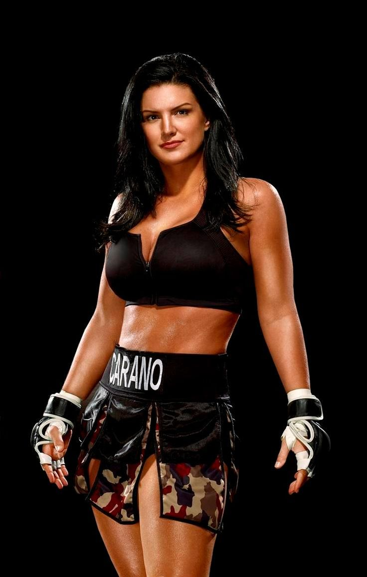 Gina carano diet plan and workout routine healthy celeb - Gina Carano Outside The Ring Gina Carano Is A Smiling Beauty