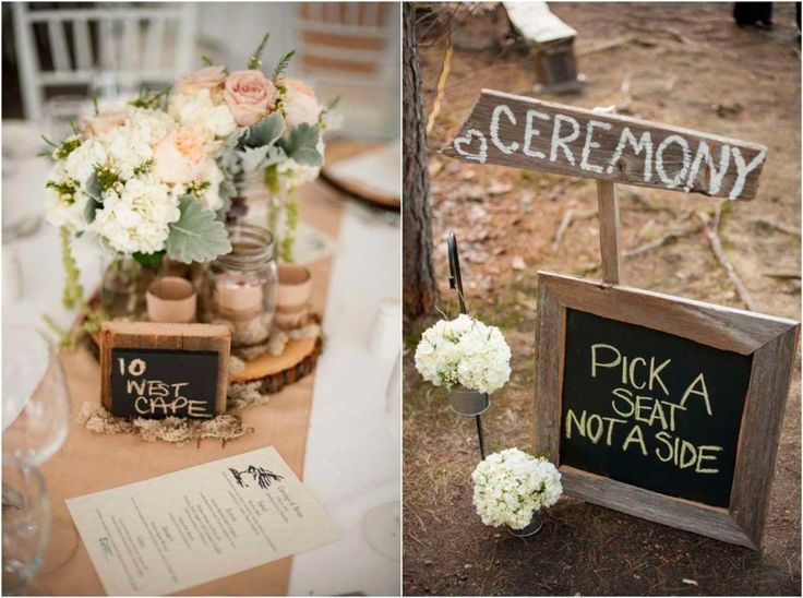 Simple Country Wedding Decorations Diy 1024x763 (1024×