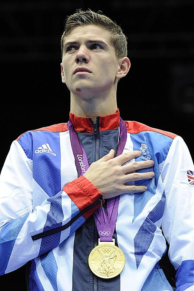 Luke Campbell British olympic gold medalist in boxing.