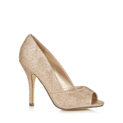 Call It Spring Light gold 'Repetti' high court shoes- at Debenhams.com