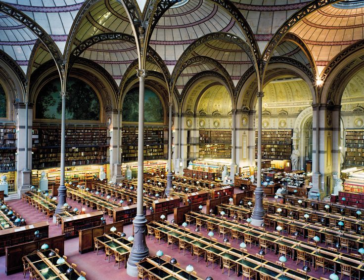 Bibliothèque Nationale de France Paris XIII 1998, 1998, Chromogener Farbabzug, 155 × 215 cm, Art Collection Deutsche Börse, Deutsche Börse Photography Foundation