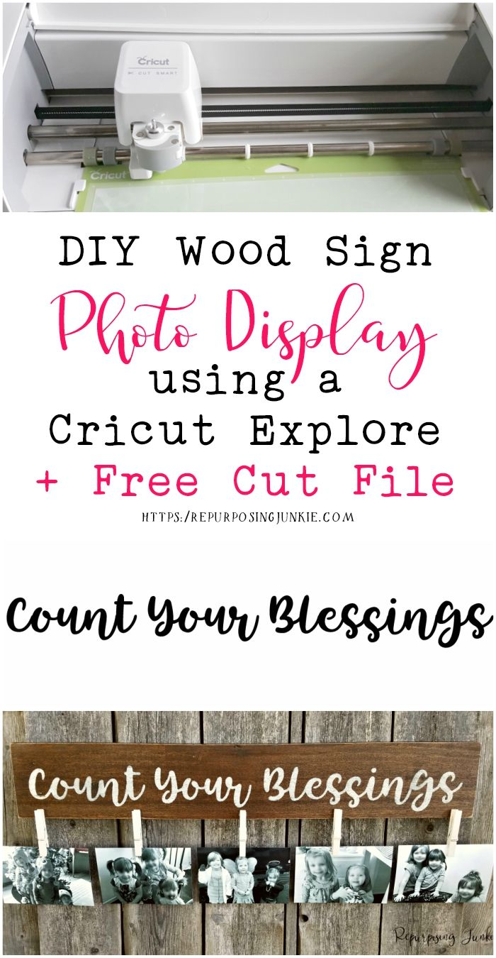DIY Scrap Wood Photo Display