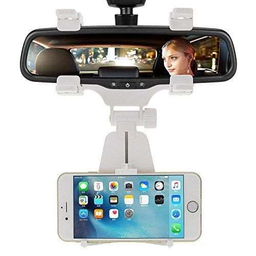 awesome Car Mount, 2-in-1 Car Mount, INCART® Car Rearview Mirror Mount + Air Vent Magnetic Mount Holder Cradle for iPhone 6/6s/5s, Samsung Galaxy S7/S7 edge/S6, Cell Phones, Smartphone, GPS / PDA / MP3 / MP4 devices