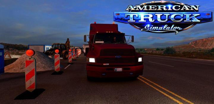 Ats Ford Ltl 9000 Aeromax V1 1 1 39 X American Truck Simulator Ford Quality Interiors