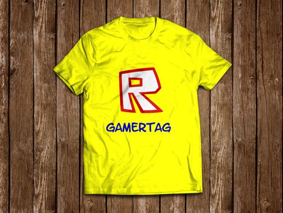 Unofficial ROBLOX personalised T-shirt
