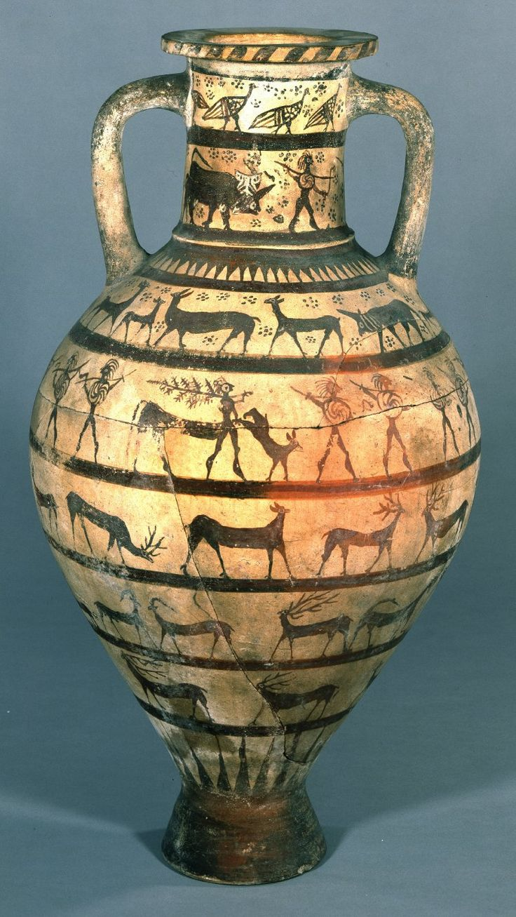 Pictures Of Pottery Barn Bedrooms: Pottery Amphora Decorated With Cavalrymen, Warriors