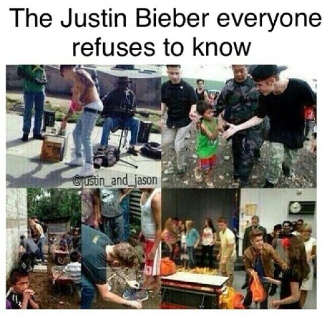 I'm not Belieber anymore but I still think that this picture is fucking true. He takes a lot of bad decisions but he also has one of the most beautiful heart I never seen before. Don't judge without knowing. I was Belieber and I don't regret it at all. So, to all people who critic him without knowing his story, go away of my Pinterest account. Thanks.