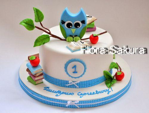 торт с совой для масльчика - Поиск в Google