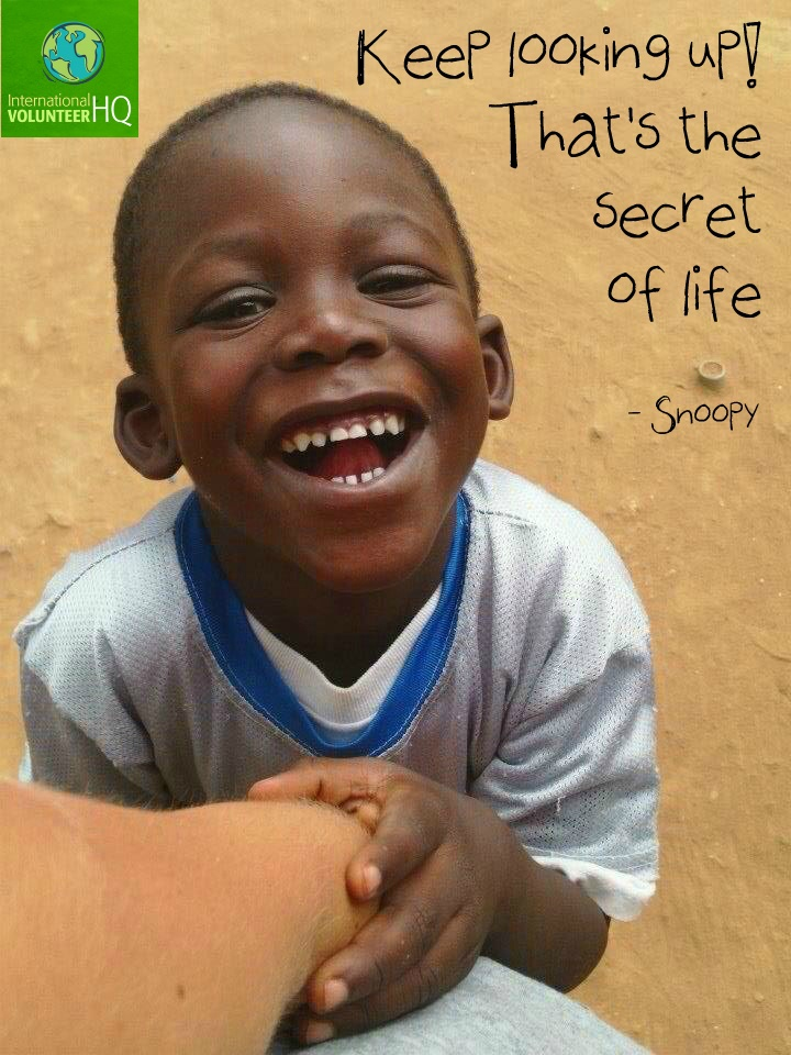 """""""Keep looking up! That's the secret of life"""" - Snoopy #quote"""