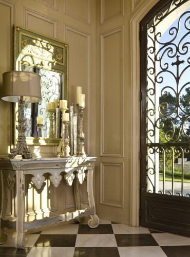 french style entryway