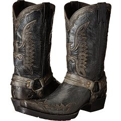 Stetson Outlaw Eagle Biker Distressed Black - Zappos.com Free Shipping BOTH Ways