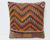 moroccan pillow cover 18x18 decorative throw pillow unique decor home furnishings kilim pillow case striped throw pillow aztec pillows 26289