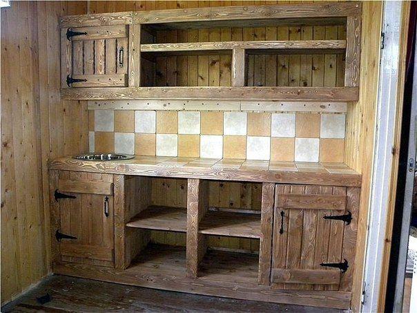 Кухонный гарнитур своими руками. Фото из сети.