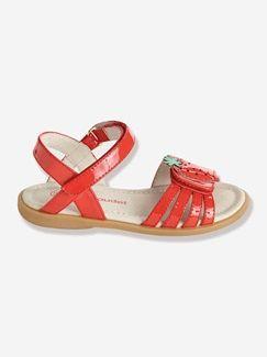 Sandalias de piel especial guardería, para niña