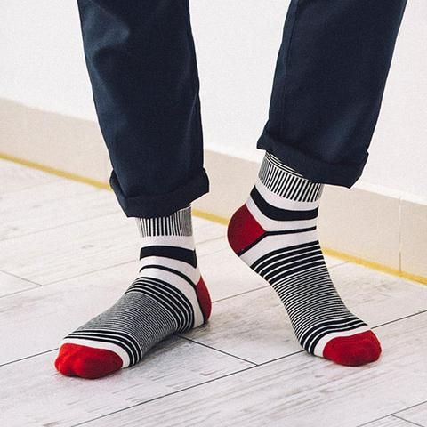 New Style Brand Men Socks Cheap Fashion Colored Striped Meias Homens Cotton Sock Man Cool Mens Happy Socks Calcetines Hombre