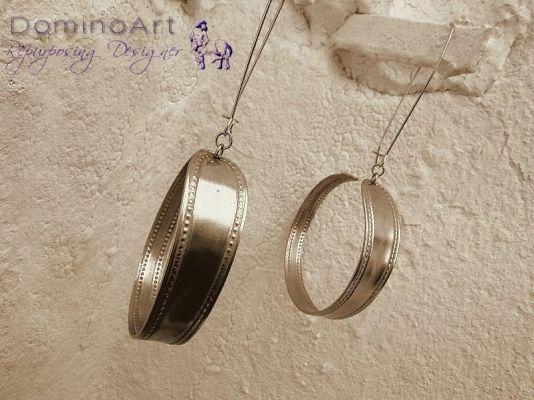 Σκουλαρίκια κρίκοι | myartshop Κουτάλια σκουλαρίκια κρίκοι