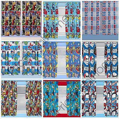 """Boys #bedroom character curtains #marvel,star #wars, paw patrol + more in 54"""" & 7,  View more on the LINK: http://www.zeppy.io/product/gb/2/191804836333/"""