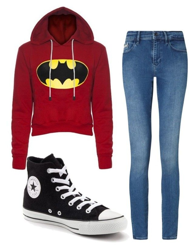 """""""🙎🏻"""" by ariba95 ❤ liked on Polyvore featuring Calvin Klein and Converse"""