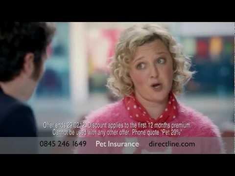 Chocolate - Direct Line pet insurance advert - Chris Addison and Lorna Watson