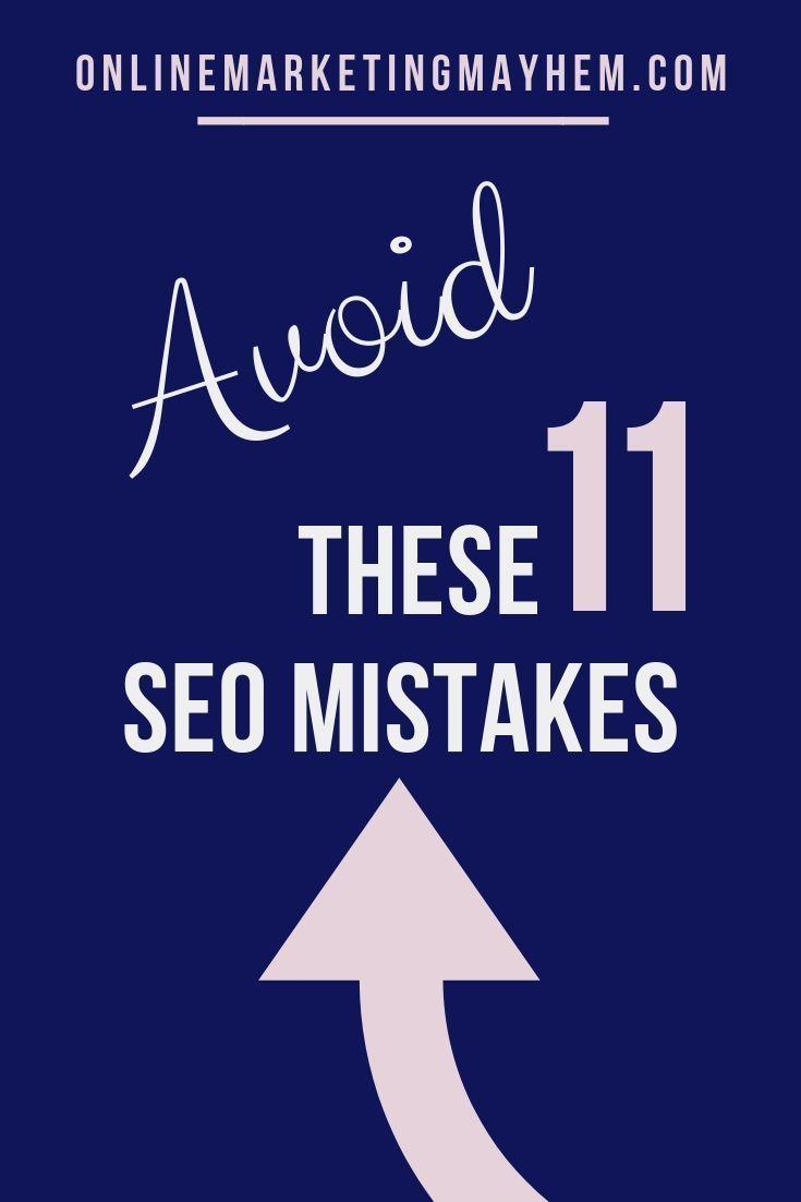 SEO Fehler zu vermeiden