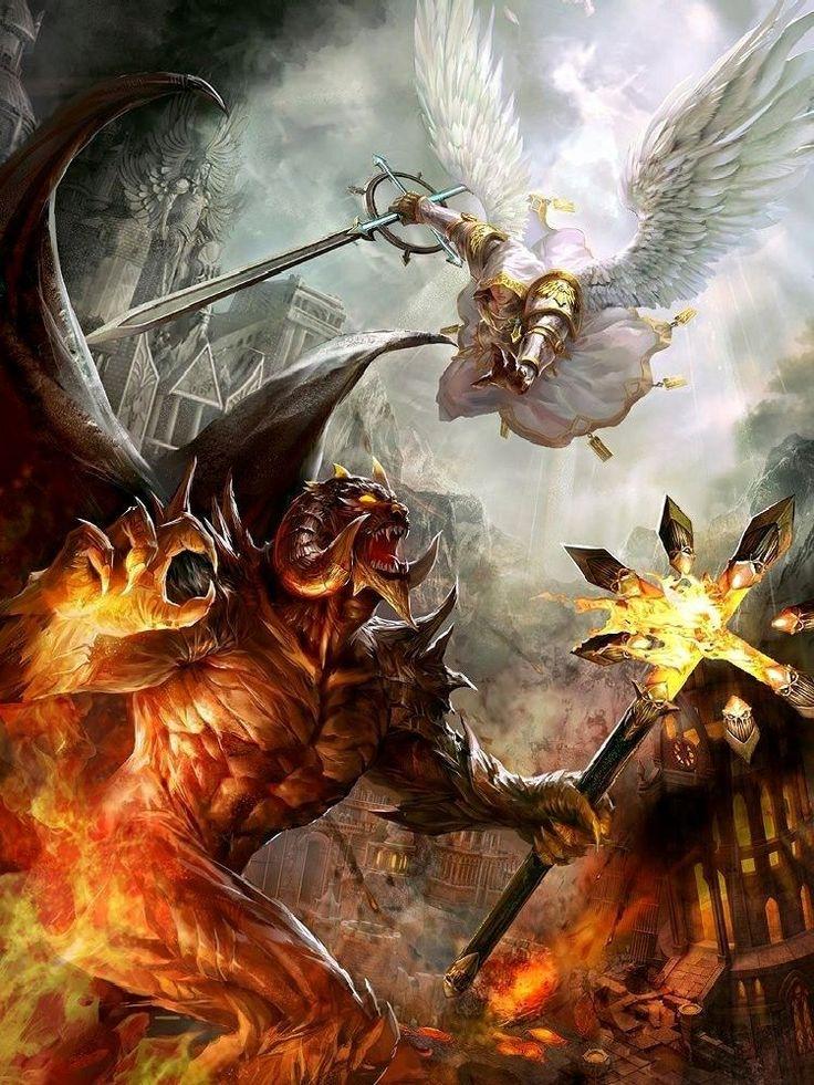 heaven vs hell art - photo #16
