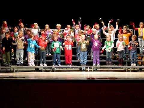 First Grade Plate Routine - March from The Nutcracker Ballet (We did this with Kindergarten at Christmas, and we actually taught it to them correctly so it fit the form) ;)