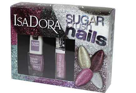 Isadora - Isadora Sugar Crush Nails Pink lahjapakkaus