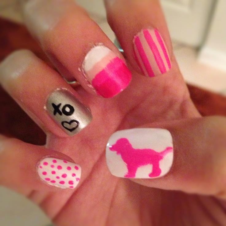 19 best do it yourself nail art images on pinterest nail art victorias secret do it yourself nail art solutioingenieria Gallery