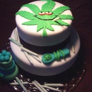 Marijuana Cake Idea