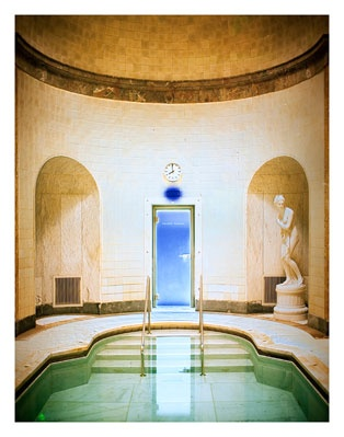 Baths: Baden-Baden by Catherine Yass found in Phoenicia which explores the historic baths in Germany