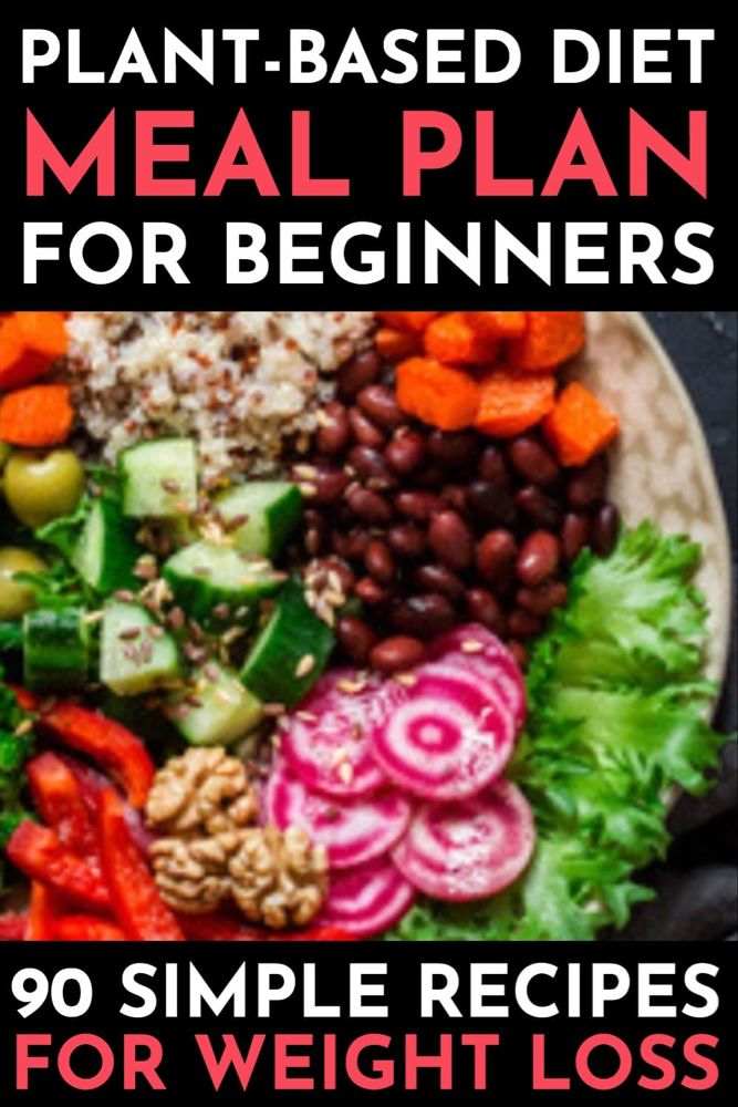 Plant Based Diet Meal Plan For Beginners: 21 Days of Whole Food Recipes To Help You Lose Weight – Healthy recipes