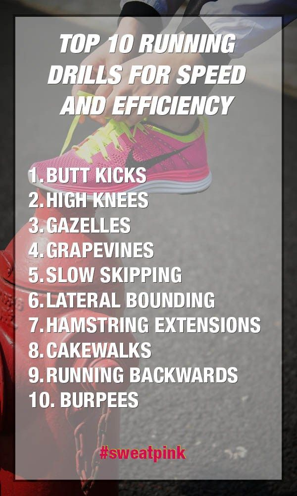 Top 10 Running Drills For Speed And Efficiency Running Drills Speed Workout Track Workout